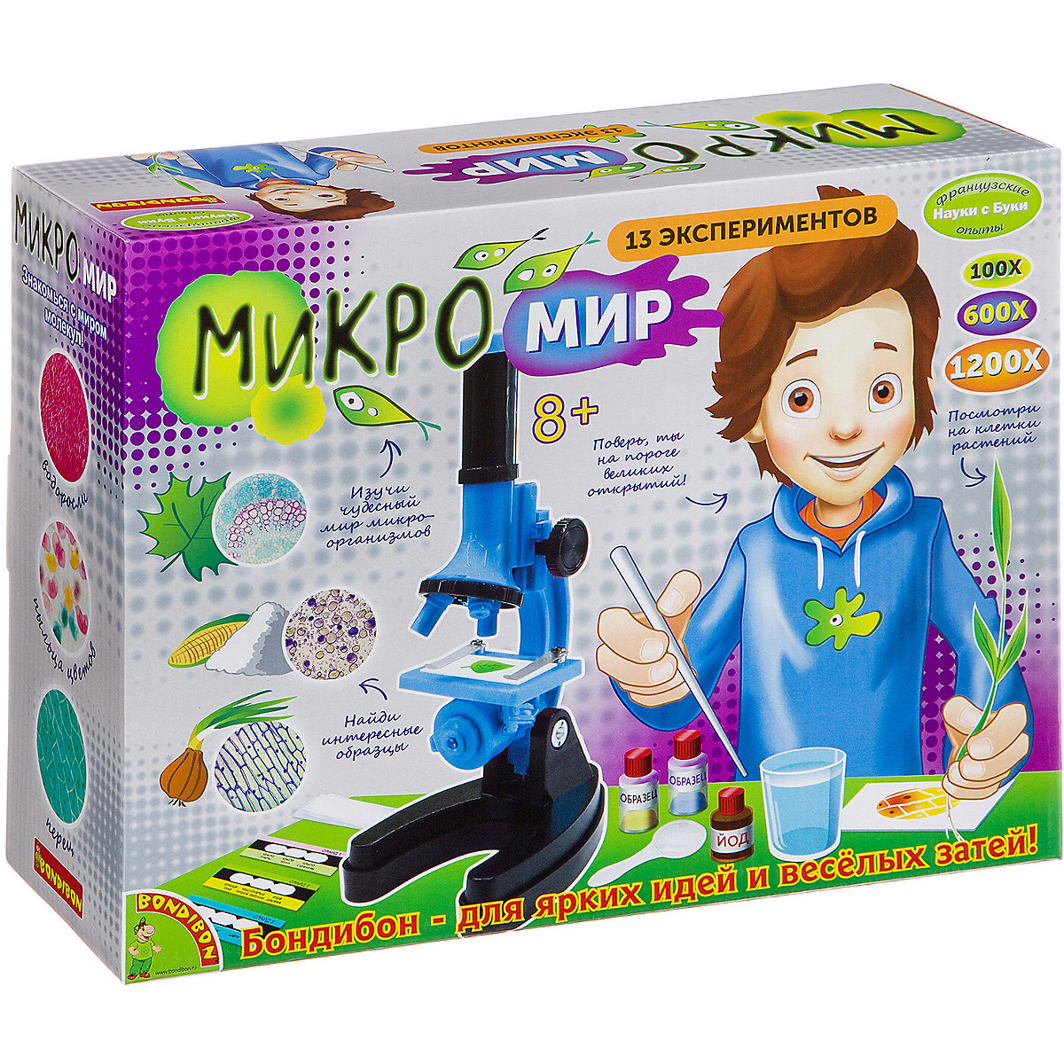 Bondibon Science 10367350 Experiments for children Educational toys Training toy Learning & Education MTpromo цены