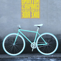 New Brand Fixie Bicycle Fixed Gear Bike 50cm Diy Single Speed Inverter Ride Road Bike Track Fixie Bicycle Colorful Bike