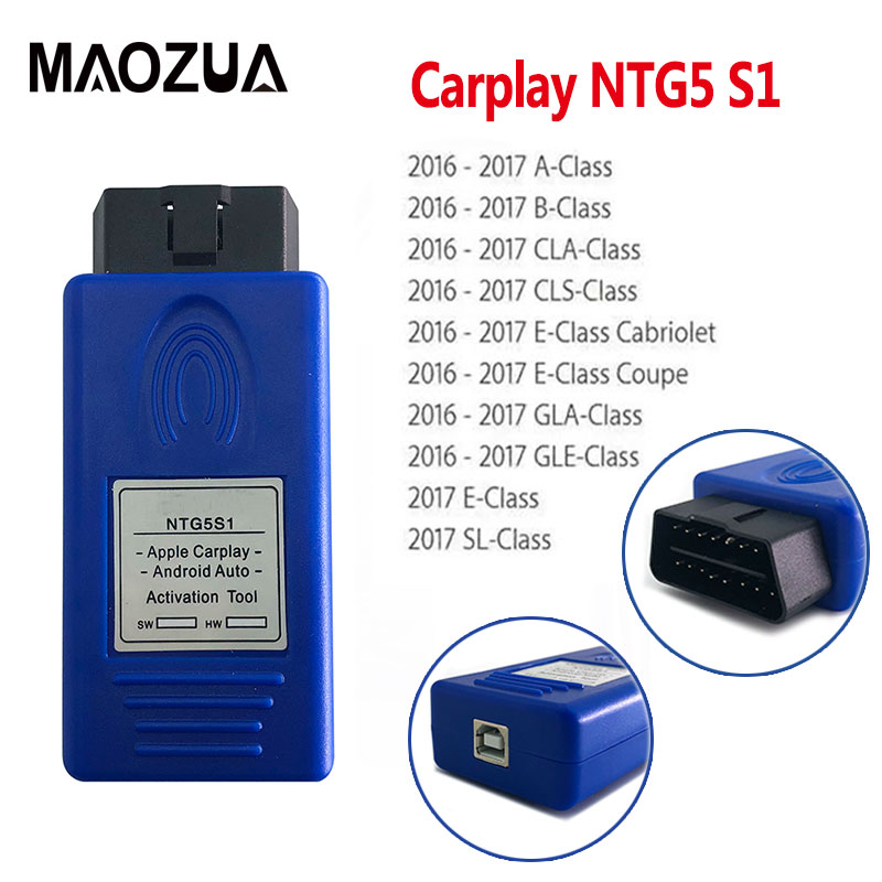 2020 Newest NTG5 S1 CarPlay for Apple CarPlay and Android Auto activation tool iPhone Android for NTG5S1 NTG5 S1