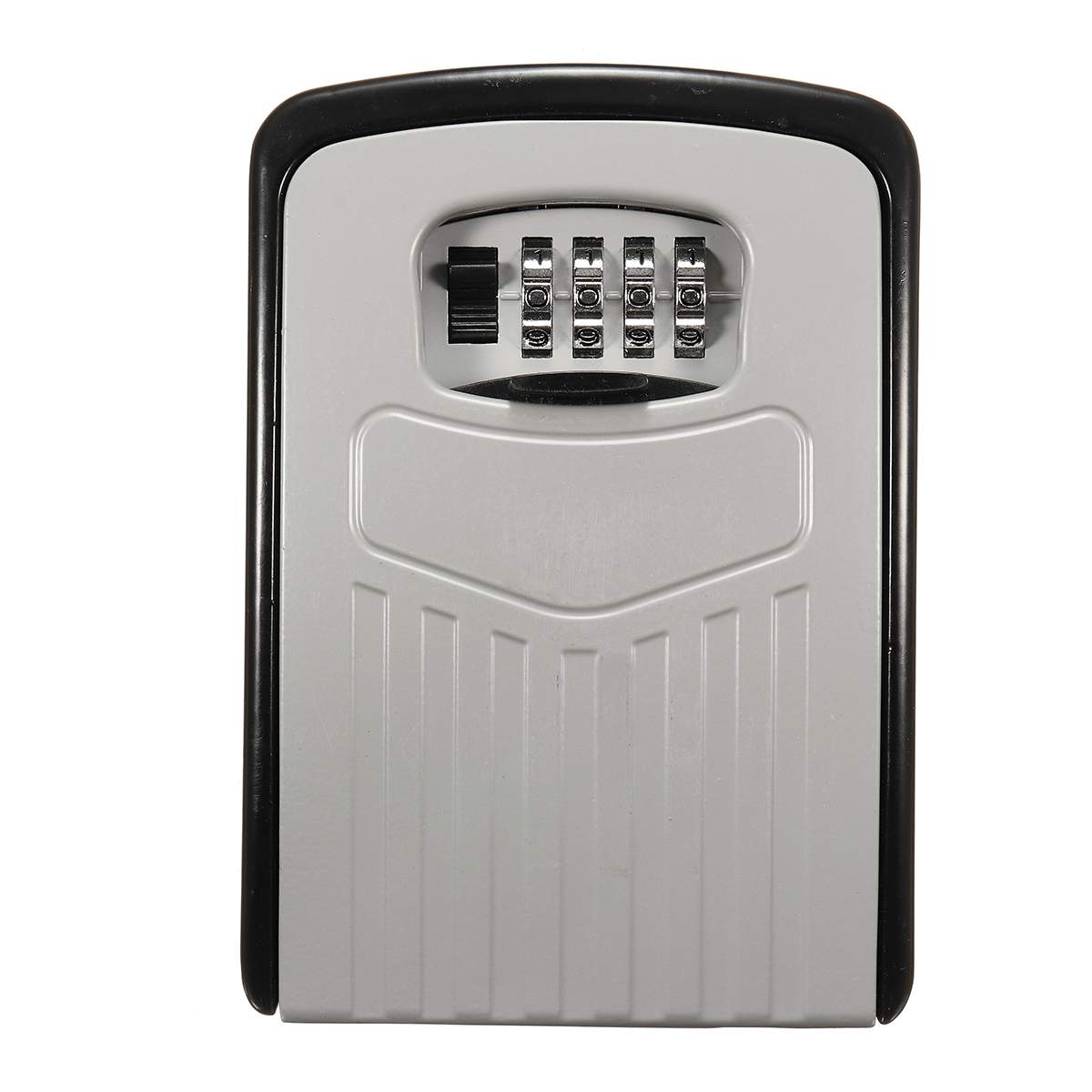 Safurance Large Key Safe Box Outdoor Key Lock Box Aluminium Wall Mounted Waterproof 4 Digit Combination Password