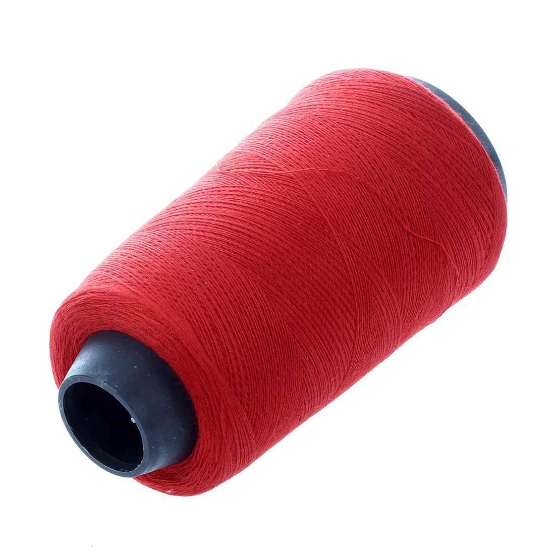 JEYL 赤綿ミシン糸リールスプール仕立て文字列 500 メートル