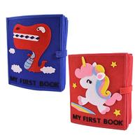 Baby Infant Toys Baby Cloth Book Soft Cloth Development Books Early Learning Educational Toys