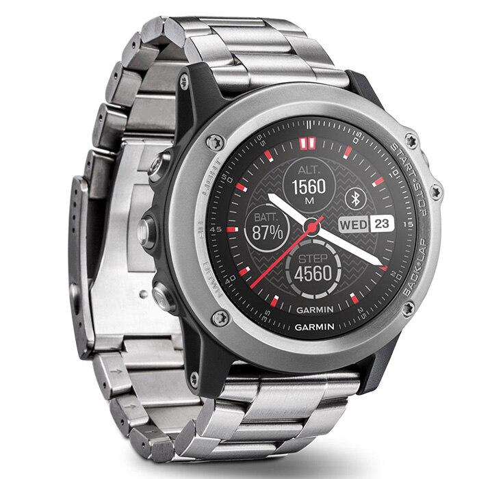 Оригинальный Garmin FENIX 3 Bluetooth 4,0 сапфировое зеркало циферблат Smart Watch 100 m водостойкий термометр gps компасы высотомер часы