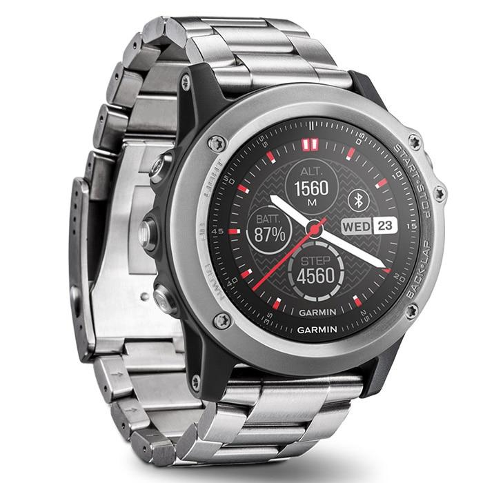цена на Original Garmin FENIX 3 Bluetooth 4.0 Sapphire Mirror Dial Smart Watch 100m Waterproof Thermometer GPS Compass Altimeter Watch