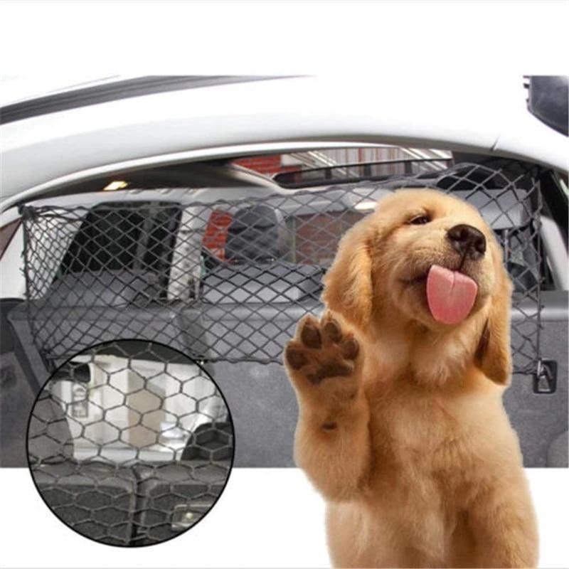 Mr E Saver/© Rear Headrest Mesh Cat Dog Pet Guard Safety Barrier Protector MREHMESHN5566