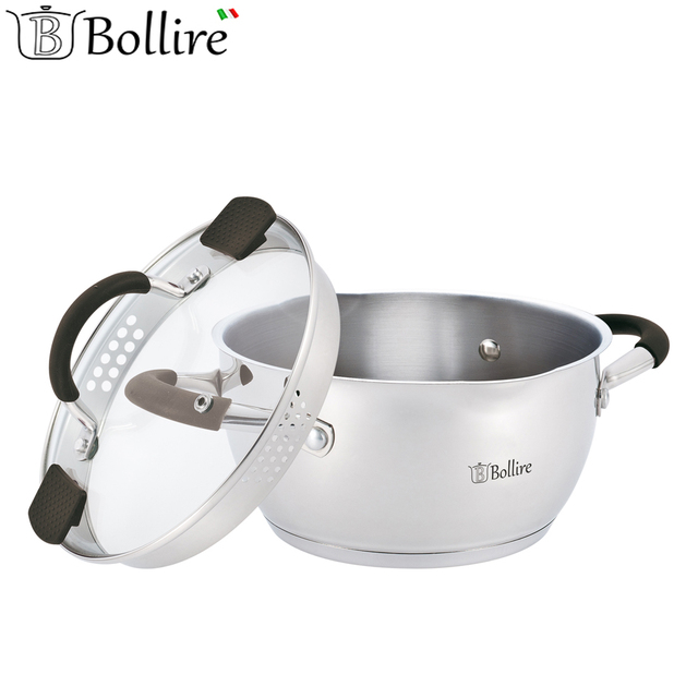 Casseroles BOLLIRE BR-2403 Capsule Bottom Suitable for all types of plates