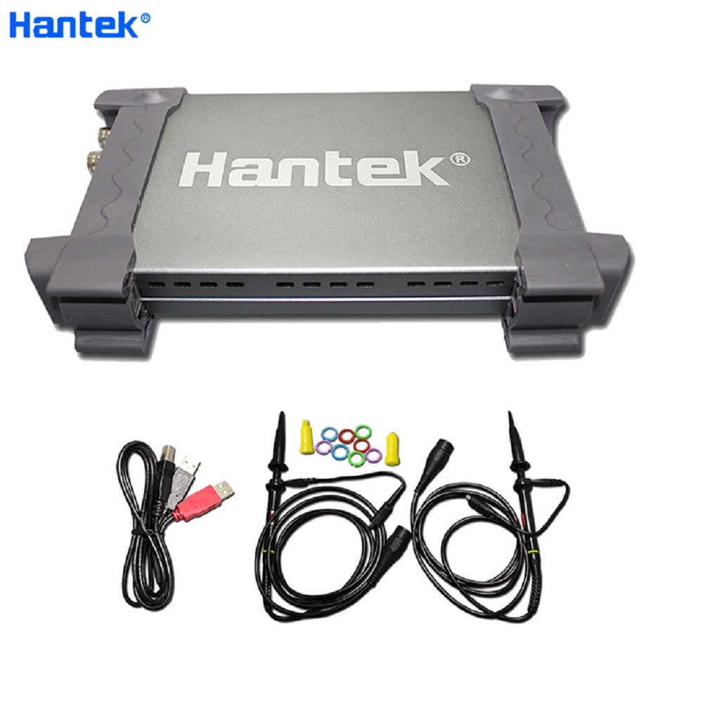 Hantek 6022BE PC-Based USB Portable Oscilloscope Digital Storag 2Channels 20MHz 48MSa/s Hantek Oscilloscope