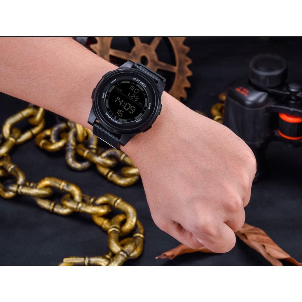 Sanda Lovers Women Men Waterproof Luminescence Digital Watch Men Teenager Outdoor Sports Wristwatch