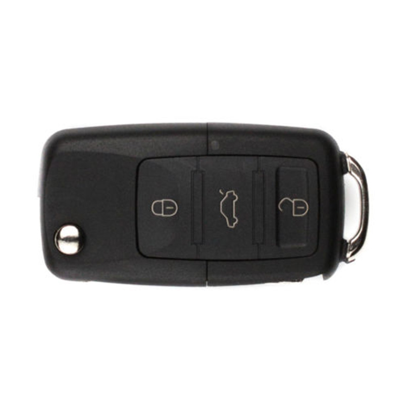 Car Key Shell 3-Button Car Key Secret Hidden Compartment Box Safe Concert Car Key Shell