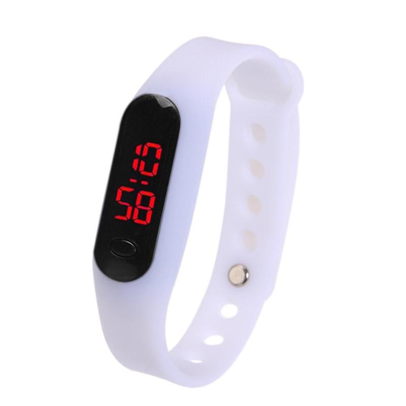 Fashion Sport Watch LED Display Electronic Digital Watch Ladies Unisex Bracelet Watch Men clock Montre Homme Relogio Feminino in Women 39 s Watches from Watches