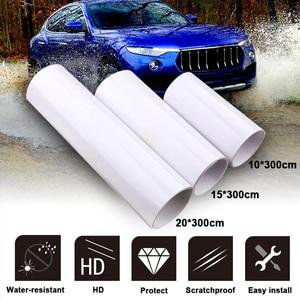 Image 5 - Car Sticker 3 Layers SIZE 20*300CM Transparent vinyl Protective Film PPF Auto Interior Invisible Scratches Shield