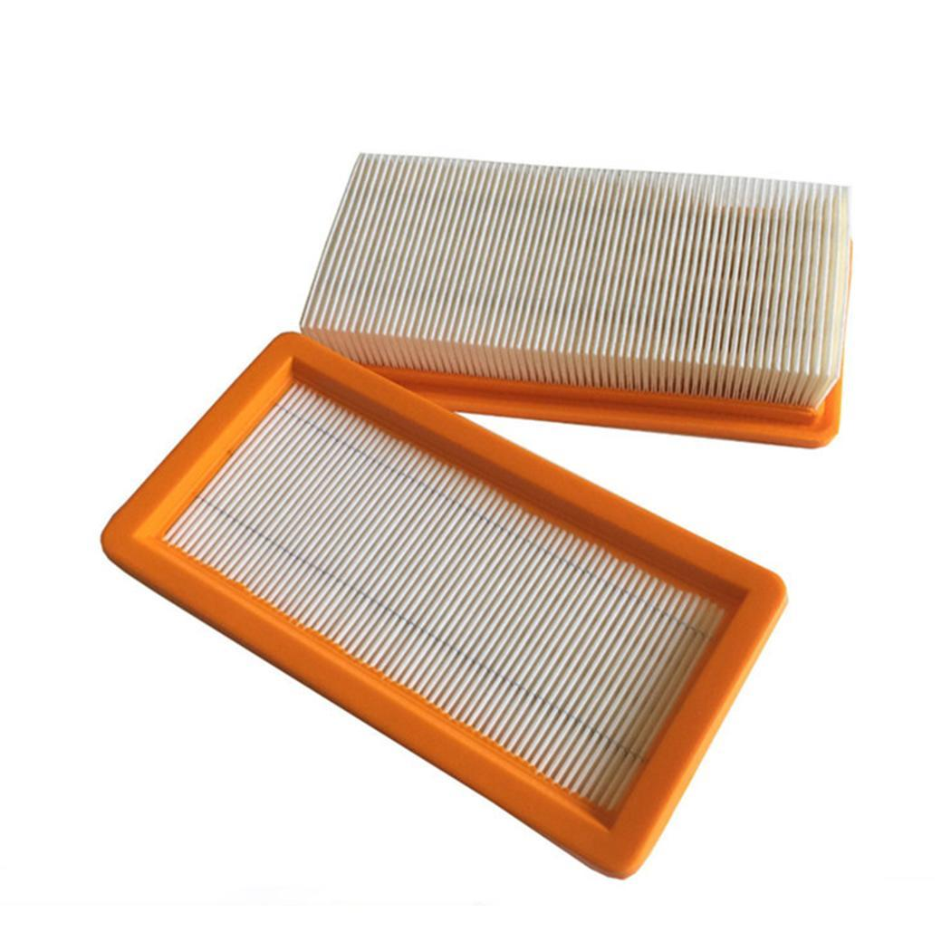 Washable Flat-Pleated Filter For Karcher DS5500,DS6000,DS5600,DS5800 Robot Vacuum Cleaner Parts For Karcher Hepa Filters