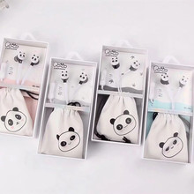 5 PCS/parcle Lovely Panda In Ear Earphones Wired Earbuds With Microphone  Stereo Earphone  For Mobile Phone for Children стоимость