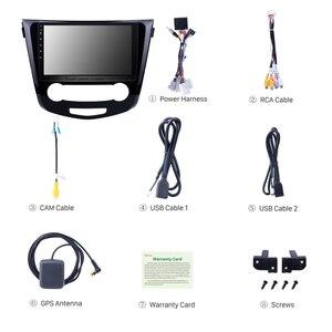 Image 4 - Seicane 10.1 Cal 2Din Android 8.1 Radio samochodowe do 2016 Nissan Qashqai nawigacja GPS z Bluetooth Audio Multimedia odtwarzacz jednostka główna