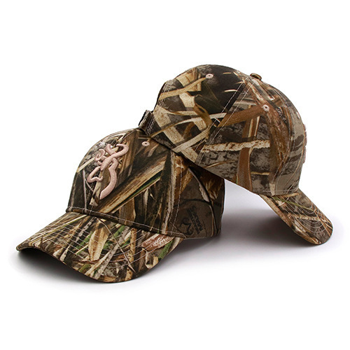 Browning Solid /& Hunting Camo Style Adjustable Fit Baseball Style Ball Cap Hats