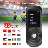 Portable Smart Voice Instant Translator 16 Language Traductor Learn Russian Translation Travel Business Meeting Outdoor