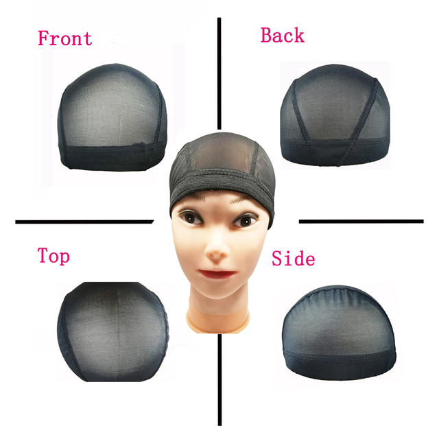 Spandex Mesh Dome Wig Cap Easier Sew In Hair Stretchable Weaving Cap Glueless Hair Net Wig Liner Cheap Wig Caps For Making Wigs 1