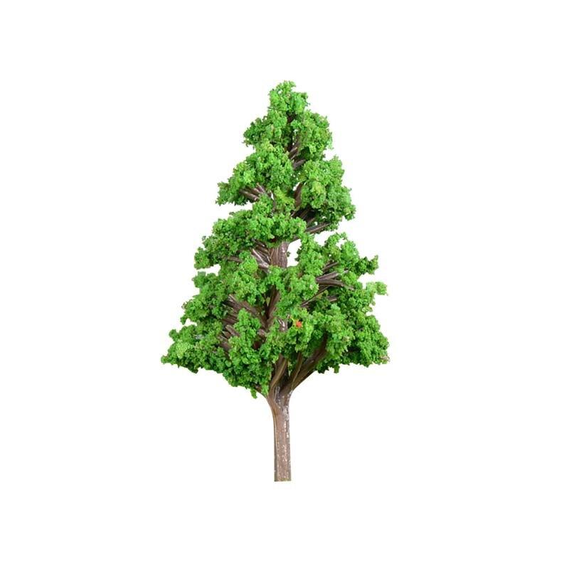 WINOMO 78x44mm Artificial Mini Tree Plants Miniature Garden Landscaping Decor Simulation Plastic Tree Decoration
