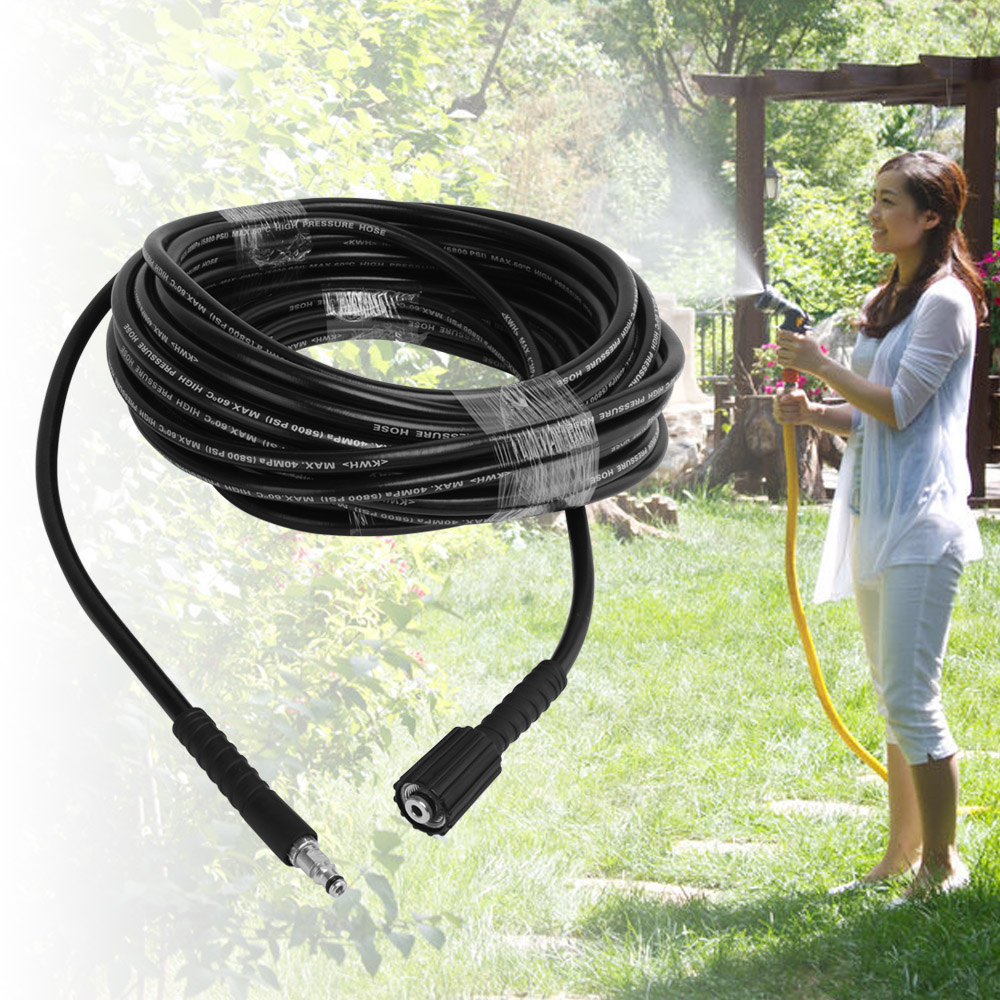 Durable 6m/8m/10m Car High Pressure Water Cleaning Hose Washer Pipe Explosion-proof Pipe For Karcher K2 K3 K4 Car Washers