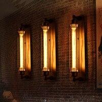 مصباح جداري عتيق من اديسون مصباح ممر حديث طراز قديم صناعي E27 110-220 فولت مصباح جداري LED W-مصباح إضاءة Led داخلي