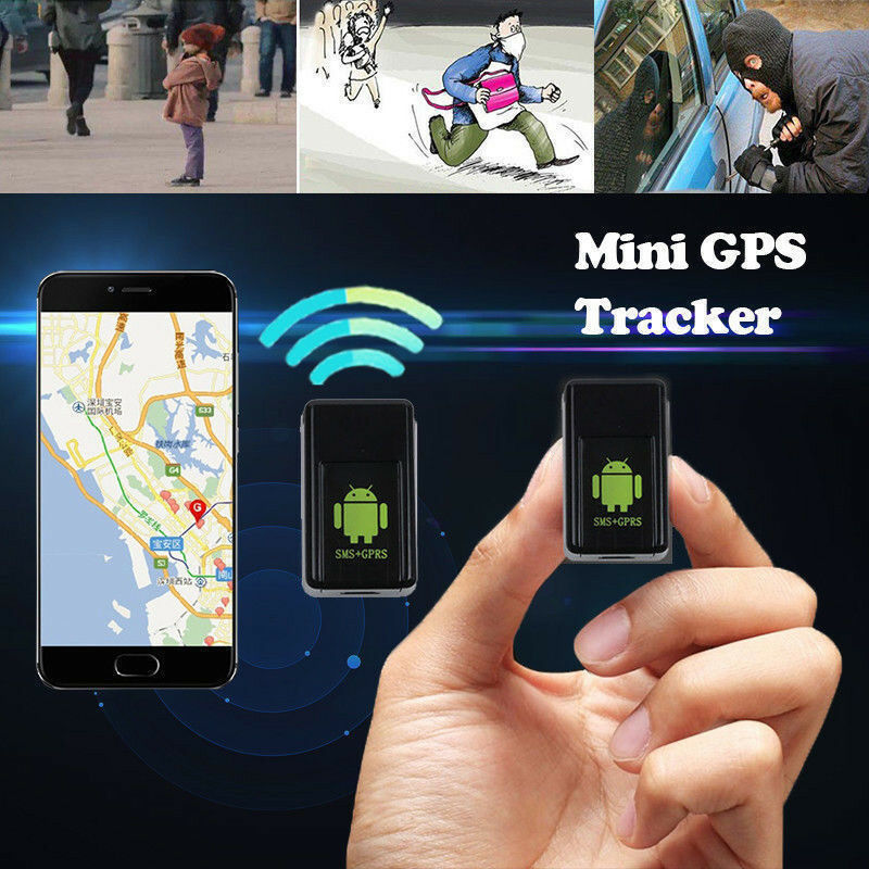 Spy Mini GPS Track Finder Device Auto Car Pets Kids Motorcycle Tracker Track JA title=