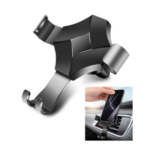 Universal Gravity Mobile Phone Holder Car Mount Cell Stand In Air Vent Clip No Magnetic Cradle