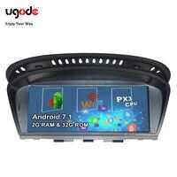 Ugode PX3 Android 7,1 автомобилей Радио GPS; Мультимедийный проигрыватель для BMW 3 серии E60 E61 E63 E64 E90 E91 E92 CCC CIC камеры CARPLAY вариант