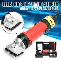 Doersupp США/AU Plug 690 Вт 110 В/230 В электрические ножницы стрижки волос Машинка для стрижки Коза резак конский машинка стрижки
