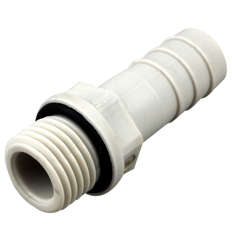 Rohre & Armaturen Eleg-2pcs 1/4 Bsp Außengewinde Rohr Fitting Zu 10mm Barb Schlauch Schwanz Stecker SchöNe Lustre Heimwerker