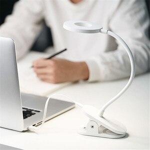 Image 3 - الأصلي Yeelight 5 واط LED USB قابلة للشحن كليب مكتب الجدول مصباح حماية العين اللمس باهتة 3 طرق القراءة مصباح لغرفة النوم