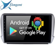 """10.2"""" Android 9.0 Car Auto Radio Multimedia GPS Navigation Player for Peugeot 208 2008 2012 2013 2014 2015 2016 Entertainment PC"""