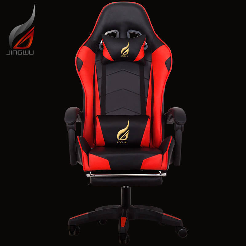 Office Furniture Gaming Computer Game Competition Chair Can Deck Sports Racing Rise And Fall Chair Customized Synthetic Leather