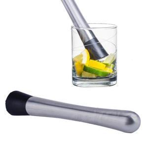 Image 1 - Kullanışlı kokteyl havanı Barware Mojito kokteyl paslanmaz çelik Bar mikser DIY İçecek meyve Muddler ezilmiş buz Barware Bar aracı