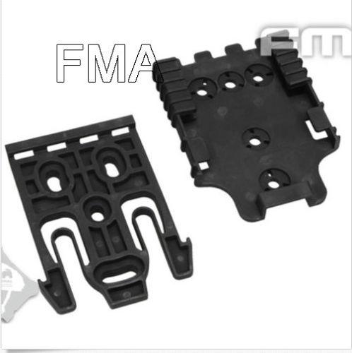 Black Quick Locking System Fork For QLS 22 & Qls 22L Plates TB1042-BK
