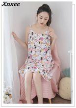 On sale summer women ladies princess hello kitty mickey printed lovely sleep dress nightgown sleepwear sleeping nightwears