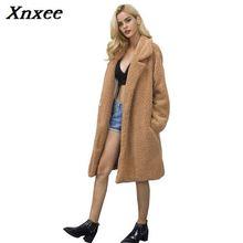 2018 Winter Women Fur Coat Womens Jacket Short Hairy Long Sleeve Faux Overcoat Outerwear Keep Warm