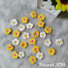 Luxury Crochet Cotton Guipure Lace Fabric Applique Guipure 3D Flowers Trim Collar Dress DIY Clothing Sewing Accessories 7Styles(China)