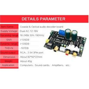 Image 5 - CIRMECH Optical Coaxial Audio Decoder CS8416 CS4398ชิป24BIT192KHz SPDIF Coaxial Optical DACถอดรหัสสำหรับเครื่องขยายเสียง