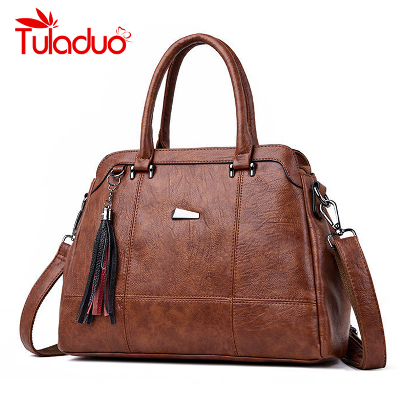 Tuladuo Luxury Handbags Women Designer PU Leather Fashion Shoulder Bag For Women 2018 Large Ladies Crossbody Bags Bolsa Feminina