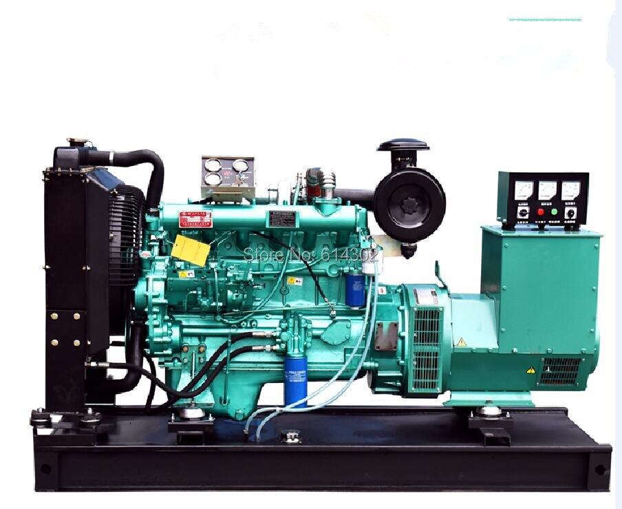 Китай поставщика Вэйфан Рикардо 100kw/125kva дизель генератор с бесщеточный генератор и Основание топливного бака с заводская цена