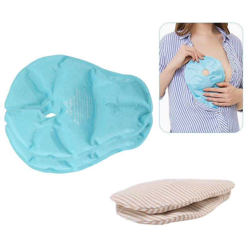 2pcs/pack Reusable Hot And Cold Compress Pad Breasts Therapy Pads Shoulders Hot Compresses Massage Breast Pad