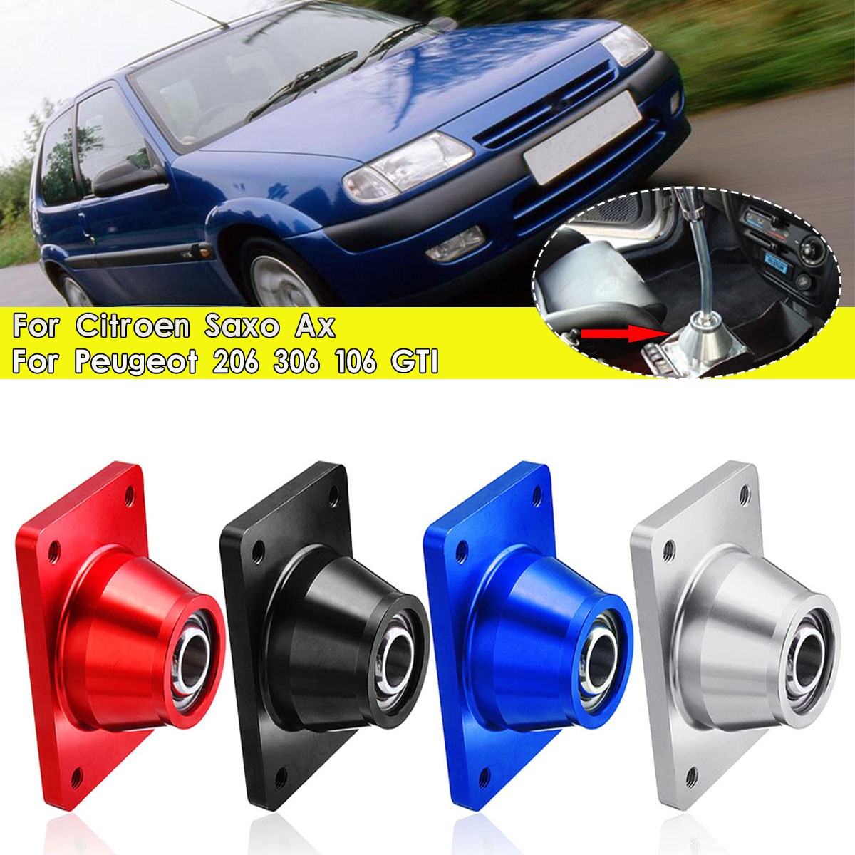 Getrouw Auto Korte Shifter Shift Quick Voor Peugeot 106 206 306 Gti Voor Citroen Ax Saxo Mk1 & Mk2 Levendig En Geweldig In Stijl