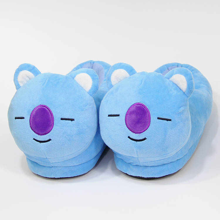 398045f36 BST KOYA Cartoon Slipper Winter warm Indoor cotton shoes Soft Plush Stuffed  Toys Cute Home slippers