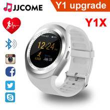 Y1X Smart Watch Men Y1 Upgrade Sim Card TF Heart Rate Sleep Sport Band Fitness Tracker Bracelet Wristband PK A1 Q8 Q9 Smartwatch ni5 g12 y1x y1