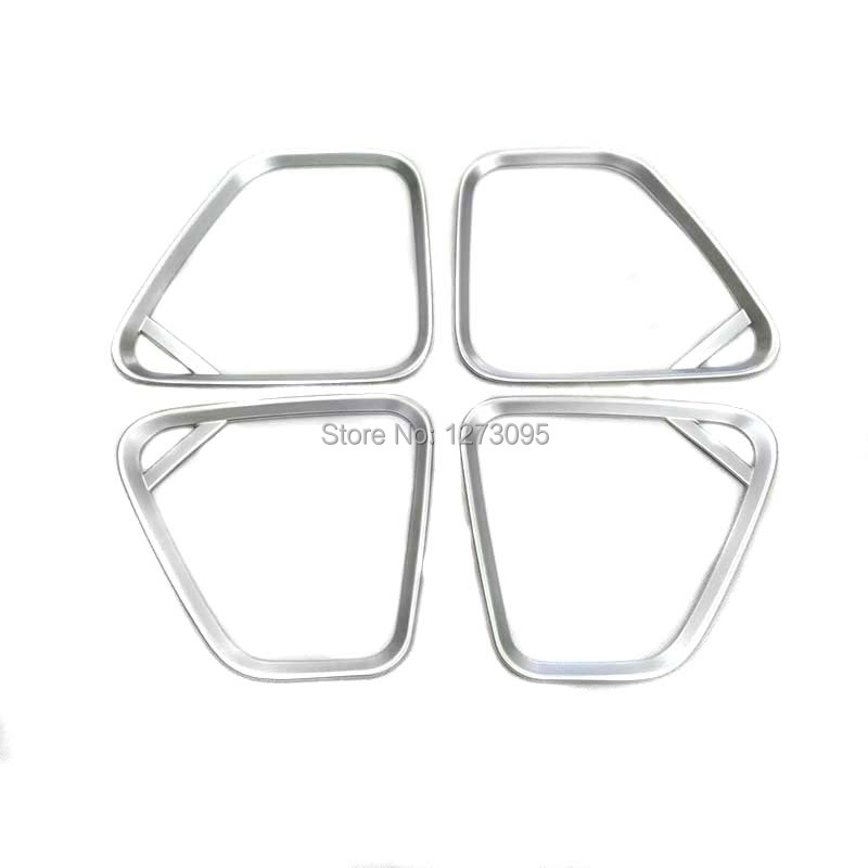 For Mitsubishi Outlander 2016 ABS Door Stereo Speaker Ring