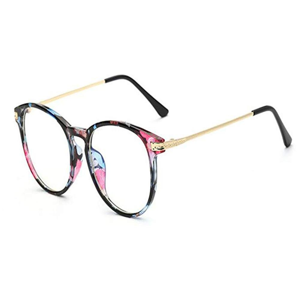 PC Frame Anti-radiation Eyeglasses Anti Blue Light Filter Mobile Phone Computer Protection Eyewear No Degree Clear Lens Goggle