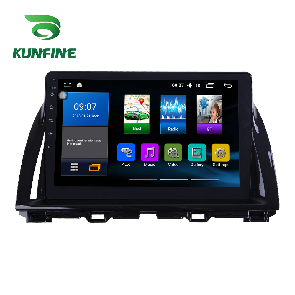 Octa Core 1024*600 Android 8.1 Car DVD <font><b>GPS</b></font> Navigation Player Deckless Car Stereo For <font><b>Mazda</b></font> CX5 2015-2017 Radio Headunit wifi image