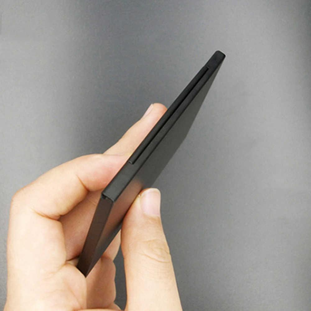 Support de protection argent téléphone Portable mémoire carte SIM boîte de rangement 13 fentes en aluminium Portable paquet boîte de rangement