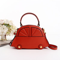 TOPEST Genuine Korean Fashion Woman Leather Shoulder Span Cowhide Portable Packet Package