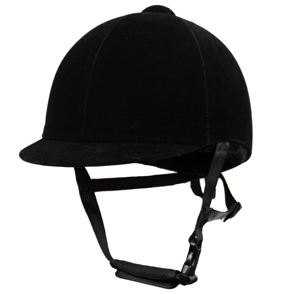 Casque d'équitation Sport équestre casques de scolarité réglables pour les nouveaux cavaliers équestres intermédiaires